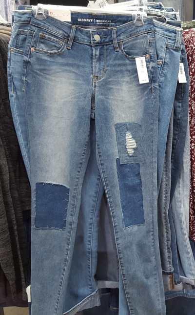 ג'ינסים 20$-39$ אולד נייבי ניו יורק
