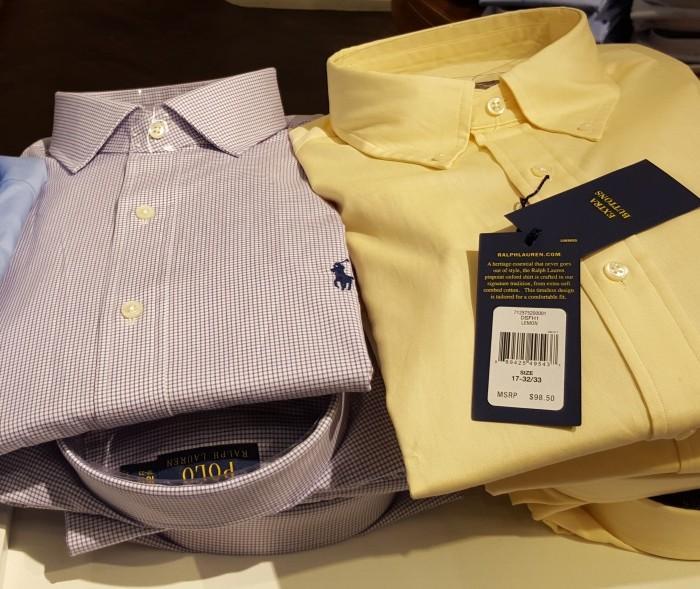 חולצה מכופתרת 98$ ראלף לורן ניו יורק