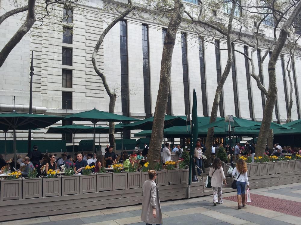 בית קפה מסעדה בבריאנט פארק