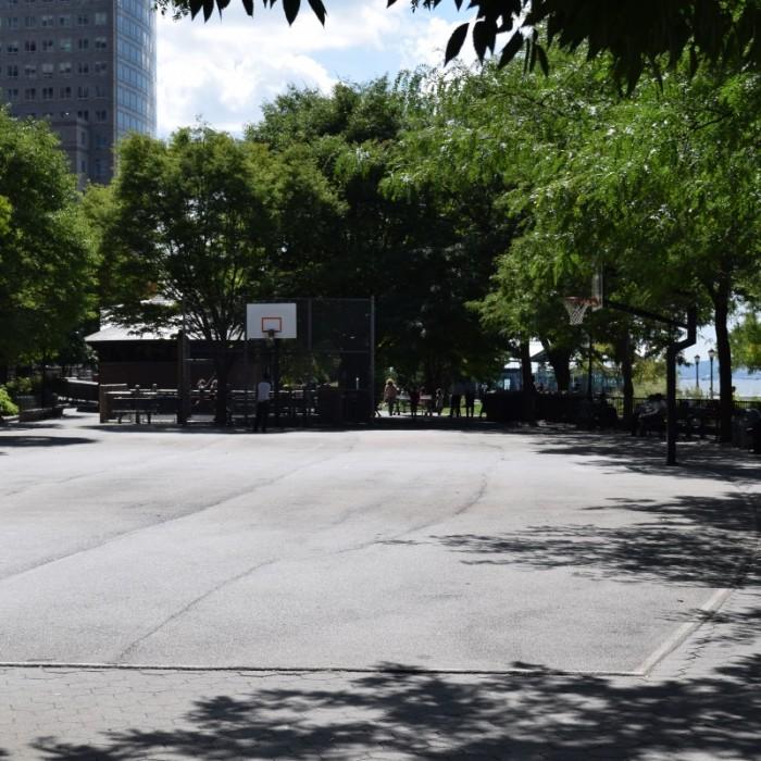 כדורסל באטרי פארק ניו יורק