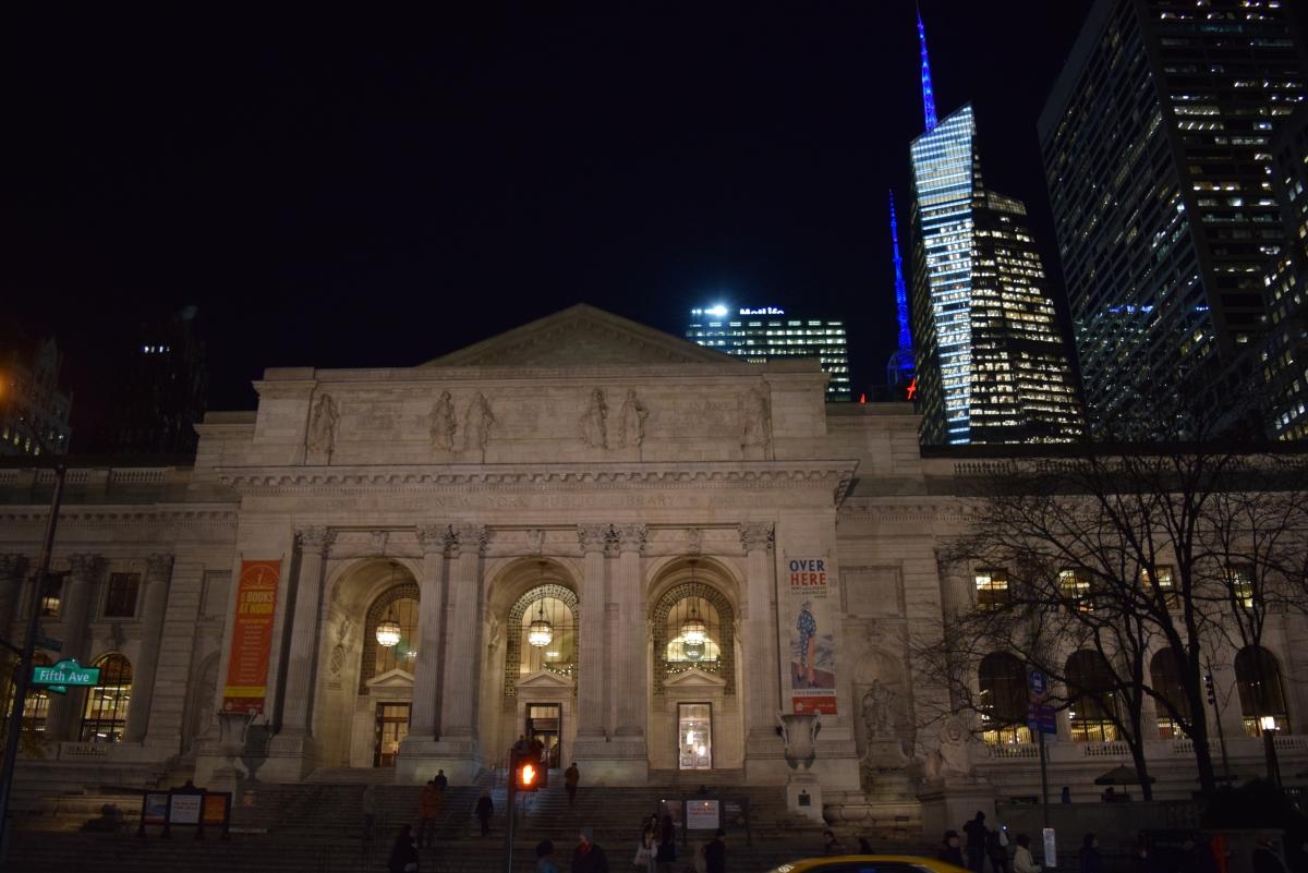 ספרייה עירונית ניו יורק