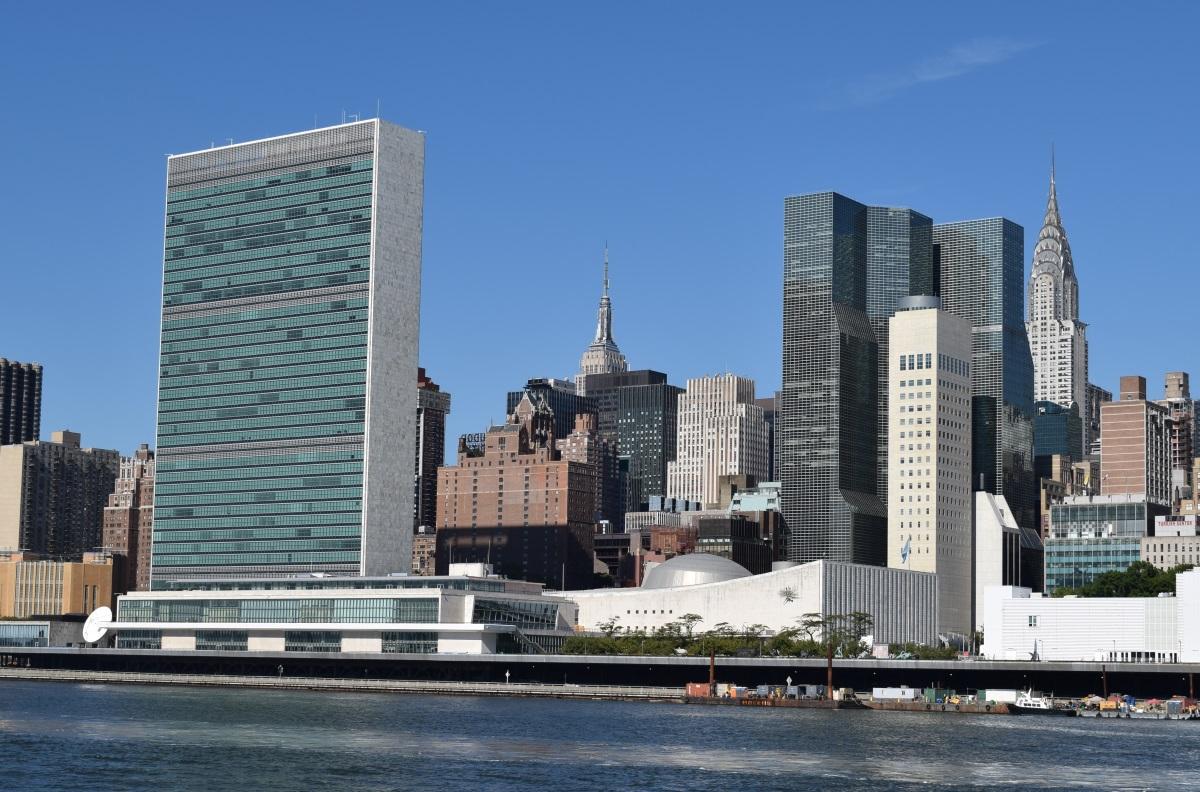 """בניין האו""""מ ניו יורק"""