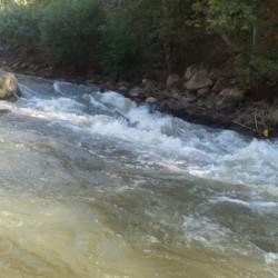 המפל של רפטינג נהר הירדן
