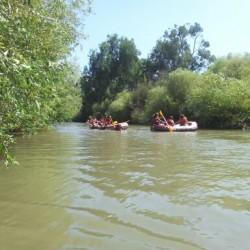 קייאקים נהר הירדן