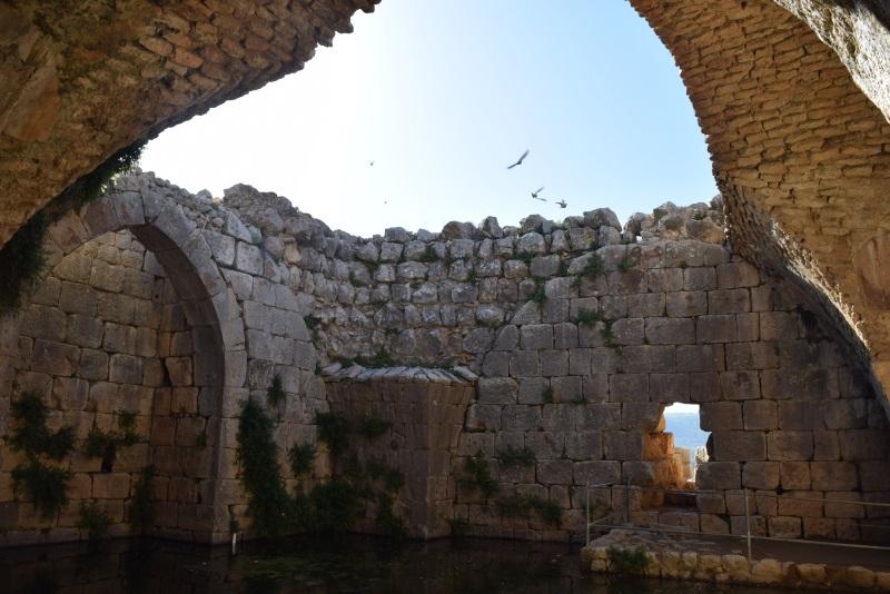 מאגר מים בגובה כזה זה דבר מרשים מצודת נמרוד