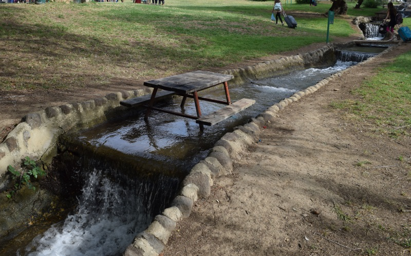 או בתוך המים קמפינג חורשת טל