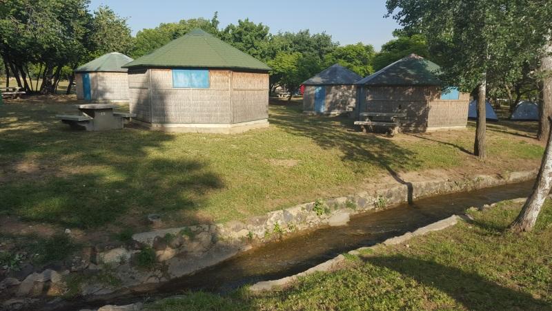 בונגלוס קמפינג חורשת טל
