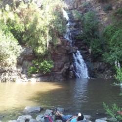 מפל יהודיה והבריכה