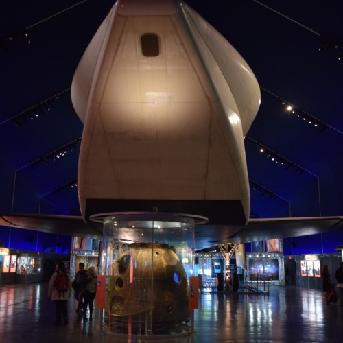 ספינת חלל מוזיאון אינטרפיד