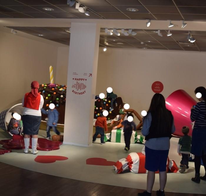 מתחם לילדים מוזיאון ישראל