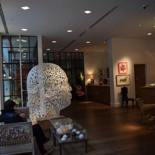הכניסה למלון מלון רחוב קרוסבי ניו יורק