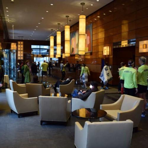 הלובי, הכניסה והקבלה מלון הילטון מילניום ניו יורק