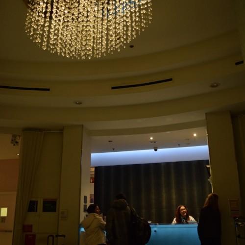 קבלה במלון פיירפילד טיימס סקוור