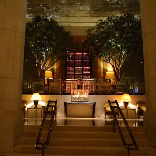 לובי מלון הארבע העונות מנהטן ניו יורק