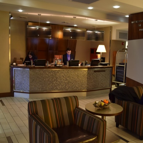 הקבלה מלון האמפטון אין מדיסון סקוור גארדן ניו יורק