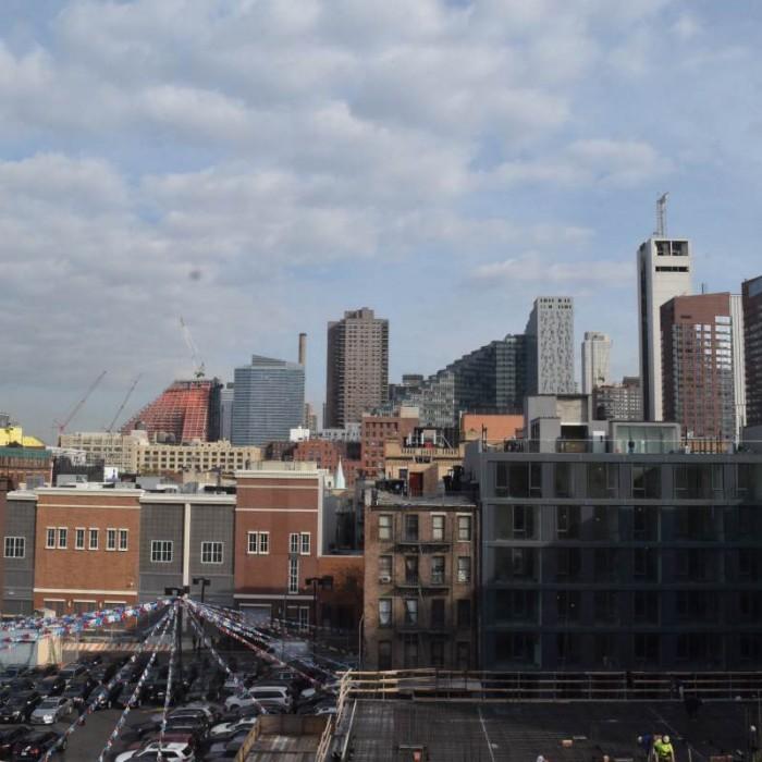 הנוף מהחדר מלון קומפורט אין מידטאון ווסט ניו יורק