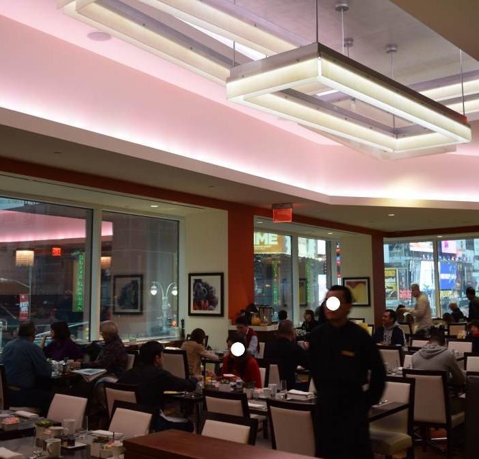 חדר ארוחת הבוקר מלון קראון פלאזה ניו יורק