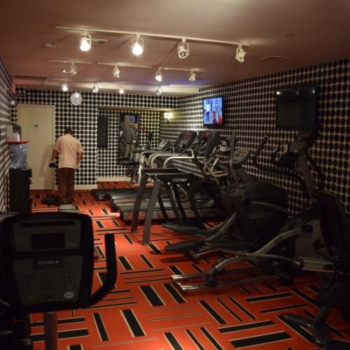חדר כושר במלון אמפייר