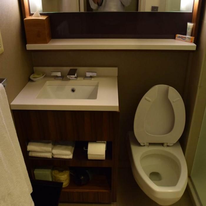 חדר אמבטיה מלון גרנד הייאט ניו יורק