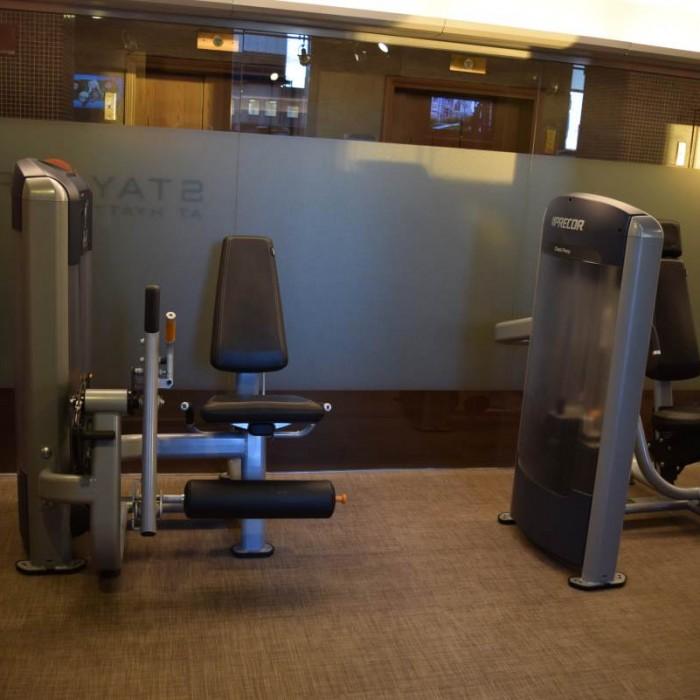 חדר כושר חלק הכח מלון גראנד הייאט ניו יורק