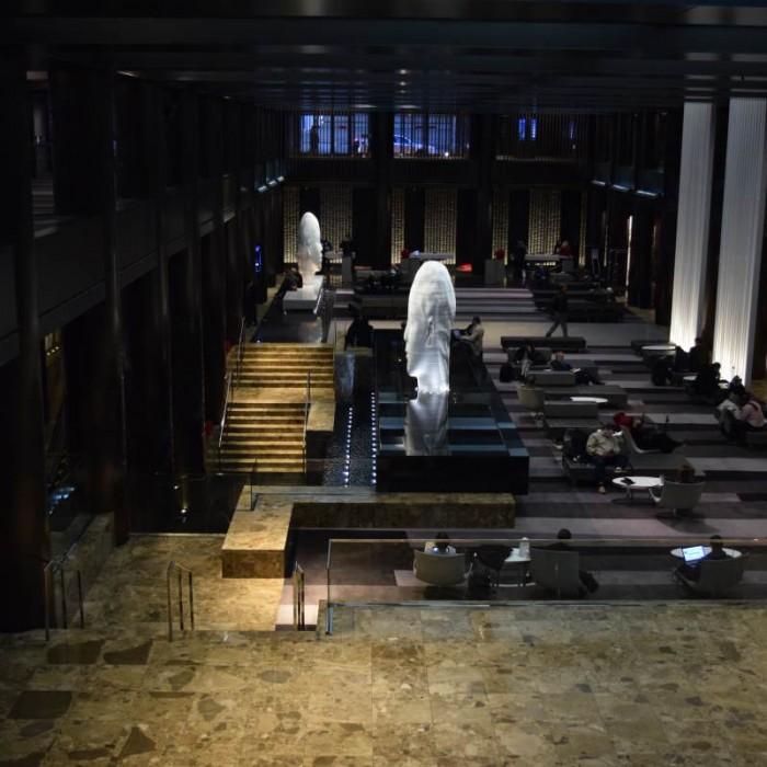הלובי מלון גראנד הייאט ניו יורק
