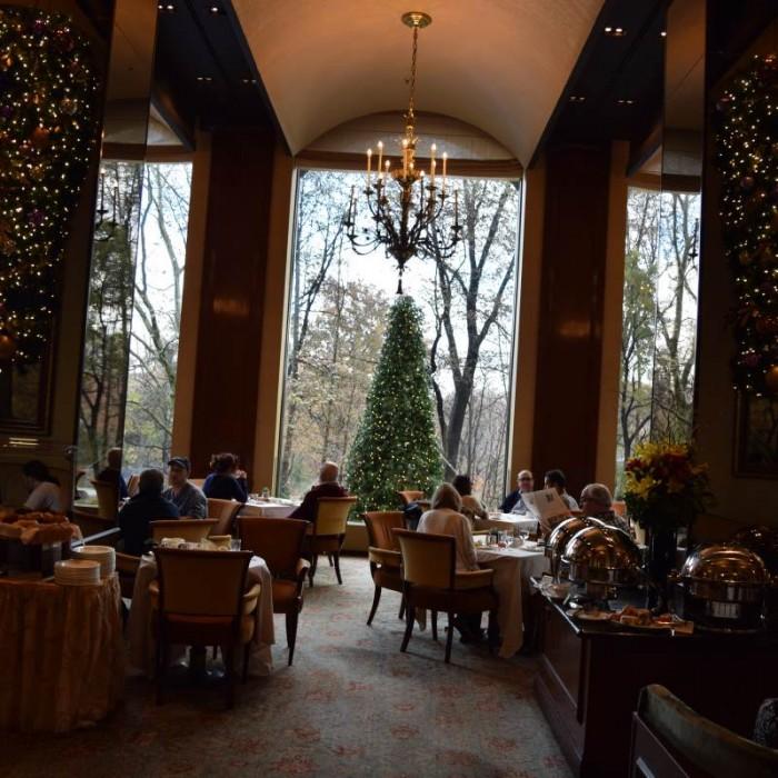 חדר ארוחת הבוקר מלון פארק ליין ניו יורק