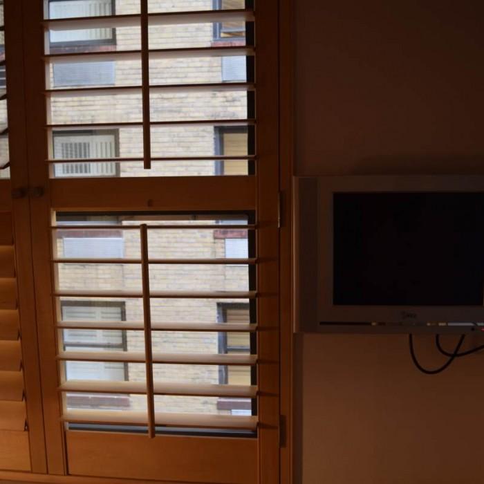 הטלוויזיה וחלון מלון פוד 51 ניו יורק