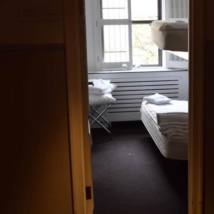 חדר עם מיטת קומותיים מלון פוד 51 ניו יורק