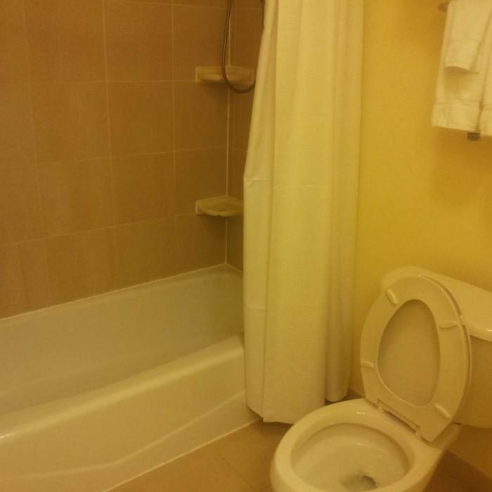 האמבטיה מלון רזידנס אין טיימס סקוור