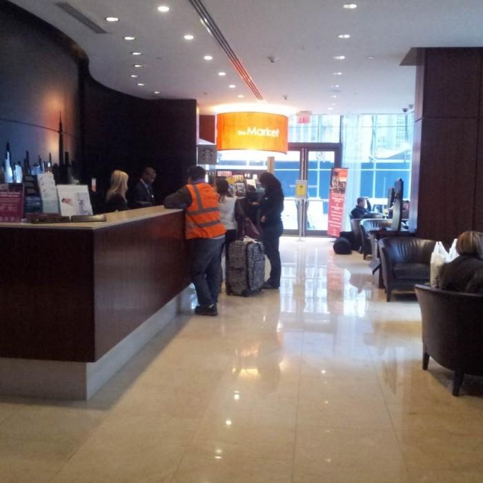 הקבלה מלון רזידנס אין טיימס סקוור
