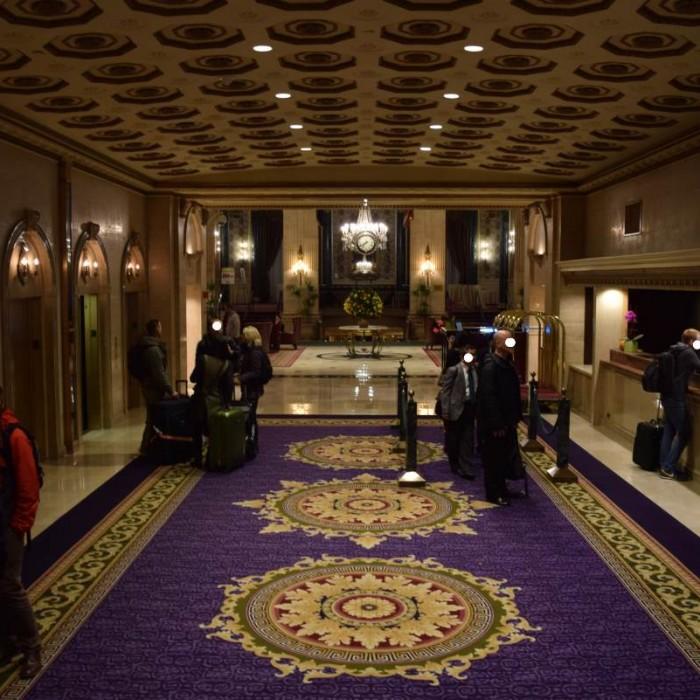 הקבלה מלון רוזוולט ניו יורק