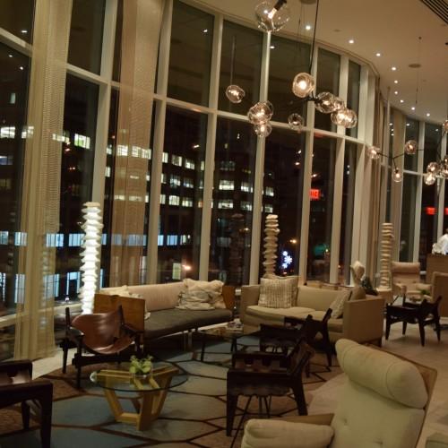 לובי מלון ג'יימס סוהו ניו יורק
