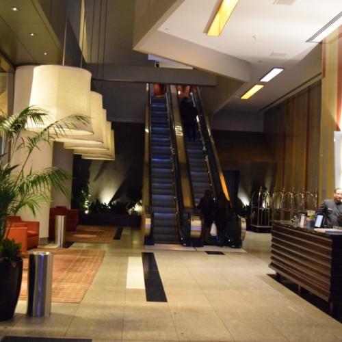 הכניסה למלון וינשטיין טיימס סקוור