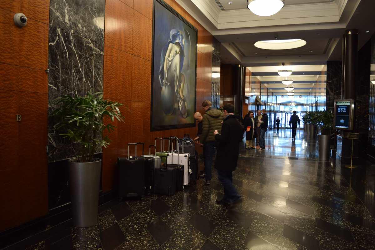 הכניסה למלון ברודווי מילניום Millennium Broadway
