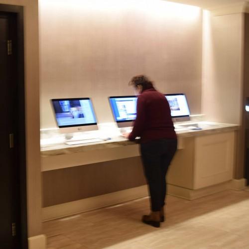 מחשבים לשימוש חופשי מלון פארק סנטרל ניו יורק