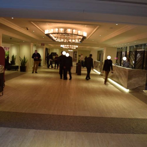 הכניסה למלון פארק סנטרל ניו יורק