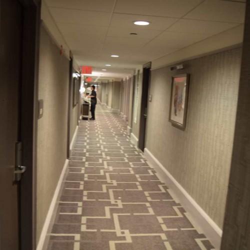 מסדרון בקומת החדרים מלון פארק סנטרל ניו יורק
