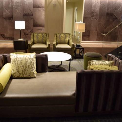 הלובי - פינת ישיבה מלון פארק סנטרל ניו יורק