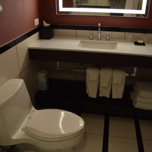 חדר האמבטיה מלון פארק סנטרל ניו יורק