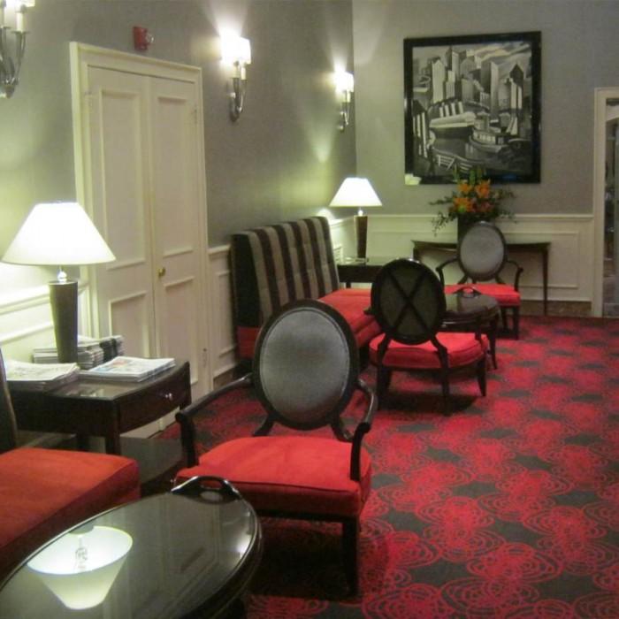 הלובי מלון רדיו סיטי ניו יורק