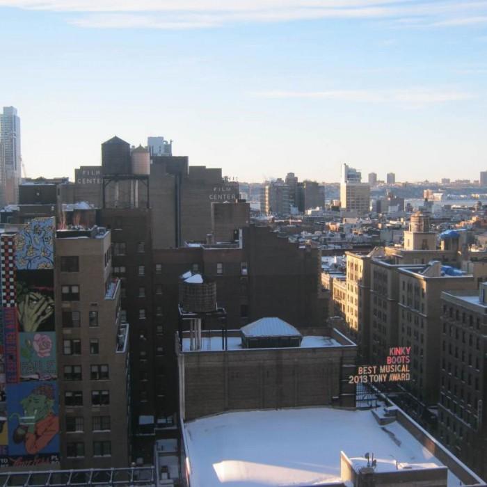 הנוף מהחדר מלון ROW ניו יורק