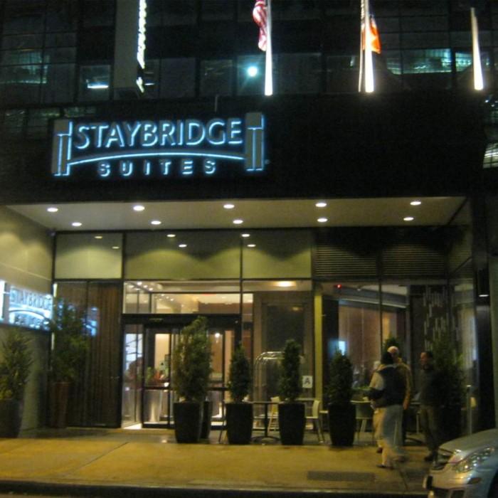 הכניסה מלון סטייברידג' ניו יורק