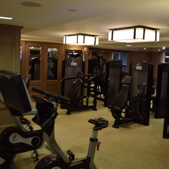 חדר כושר חלק כוח מלון לונדון ניו יורק