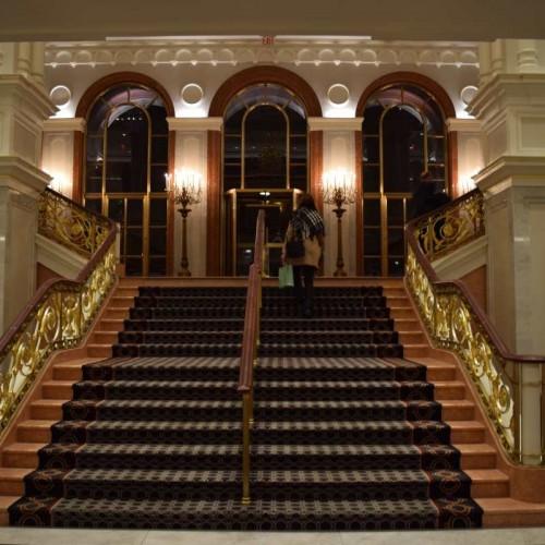 חלק מהלובי מלון פאלאס ניו יורק