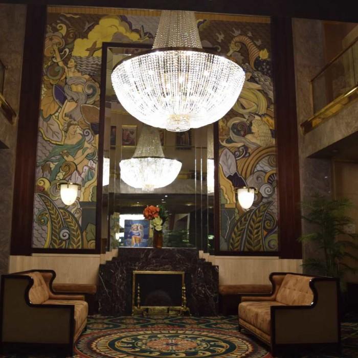 הלובי מלון וולינגטון ניו יורק