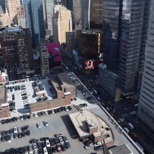 הנוף לכיוון השדרה השמינית מלון אלמנט ניו יורק
