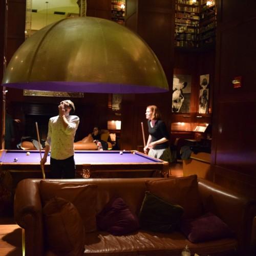 הבר השני במלון האדסון