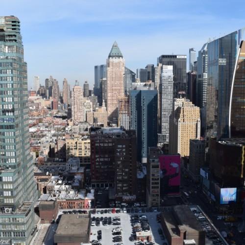 הנוף לכיוון אפטאון מלון אלמנט ניו יורק