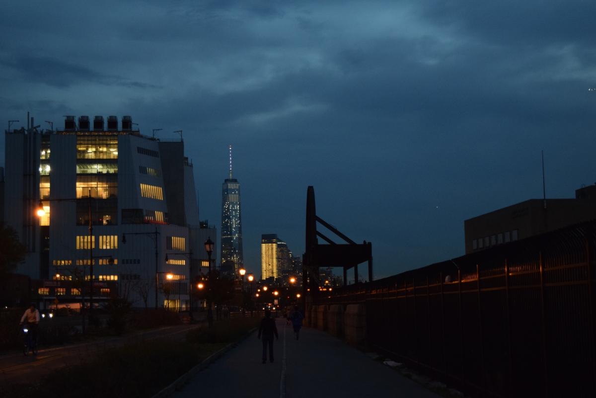 מבט מהטיילת של צ'לסי עלמרכז הסחר העולמי החדש