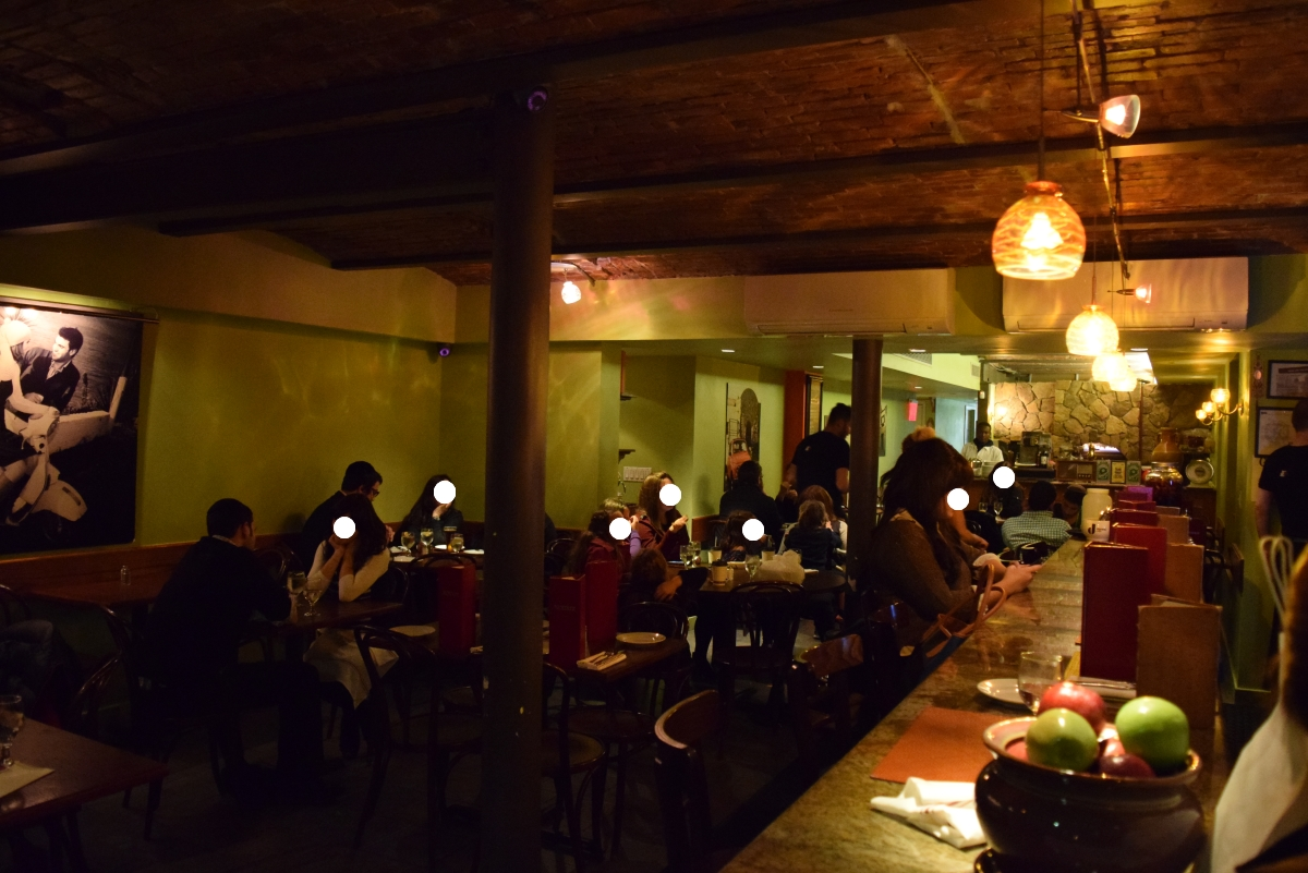 המסעדה, אווירה נעימה